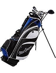 MacGregor – Palo de golf híbrido DCT Set Paquete De Grafito con Stand Bag, Golf: RH (Right Hand)