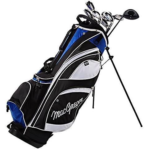 MacGregor–Palo de golf híbrido DCT Set Paquete De Grafito con Stand Bag, Golf: RH (Right