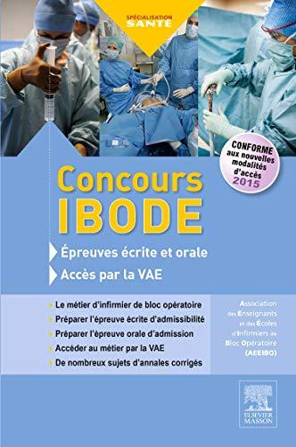 Concours IBODE: Épreuves écrite et orale et accès par la VAE par AEEIBO