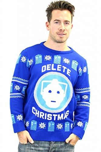 doctor-who-official-bbc-christmas-jumper-sweater-medium