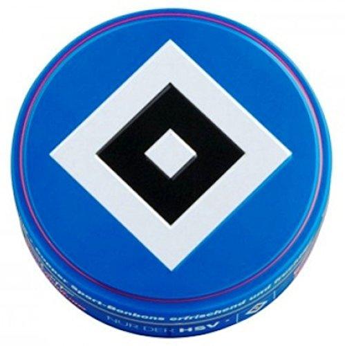 Sport Bonbon Hamburger Sportverein HSV - 60 g mit Cassis- u.Eisbonbongeschmack Cupper swett caramelo (Brille Begegnung)