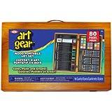 Idéal Poof-slinky 80002bl Art Gear avec ensemble de croquis et outils de peinture dans une