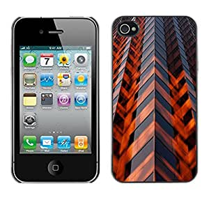 Omega Covers - Snap on Hard Back Case Cover Shell FOR Apple iPhone 4 / 4S - Architecture Engineering Skyscraper