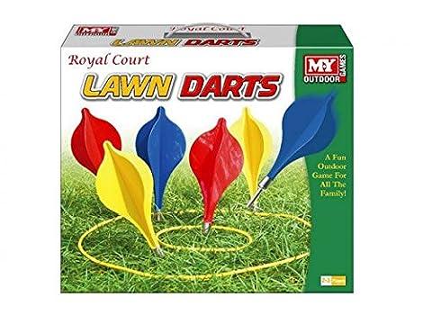 M.Y Royal Court Lawn Darts Outdoor Game