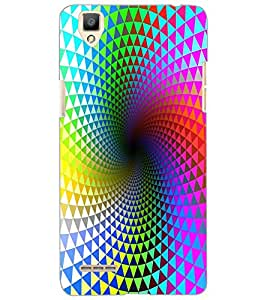 OPPO F1 ILLUSSION Back Cover by PRINTSWAG