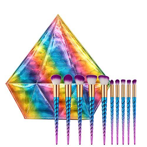 Maquillage pinceaux 8pcs professionnel Cosmeticswith sacs outil de maquillage pour beauté Essential Brush Set