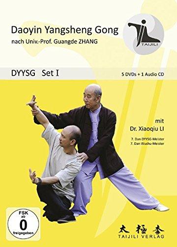 DAOYIN YANGSHENG GONG SET I (5 DVDs plus 1 Audio-CD): Qigong DVD-SET I (Dvd-audio 5 1)
