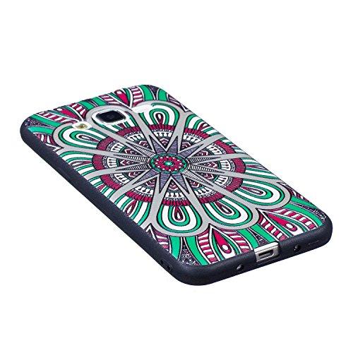 Guran® TPU Schutzhülle Silikon Case für iPhone 7 / iPhone 8 Smartphone Handytasche Gemalte Handyhülle Cover - Nachteule color06