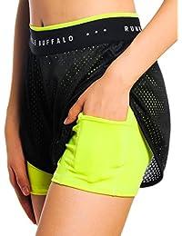 Jimmy Design - Pantalón corto deportivo - para mujer