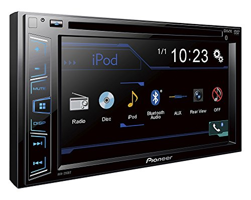PIONEER-AVH-290BT-6-2-Double-DIN-In-Dash-DVD-Receiver-with-BluetoothR-WVGA-Clear-Resistive-Touchscreen