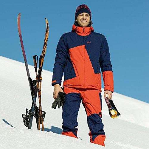 Chiemsee Herren Snowjacket Kamron Medieval Blue