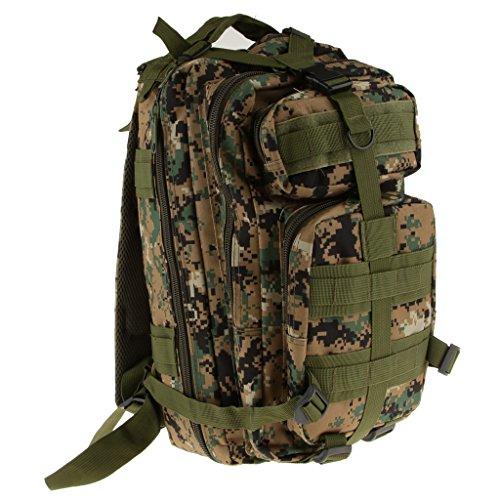 Generic Outdoor-militärische Taktische Wanderrucksack Rucksack Camping Wandern Trekking Reisen Tasche 30L Dschungel Digital