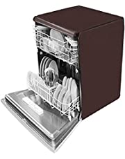 Kingmatters Dishwasher Cover for Siemens Pre-Activated VarioSpeed SN256W01GI Brown Colour
