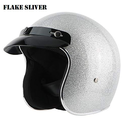 Berrd Frp Retro Open Face Motorradhelm Half Jet Retro Helm Splitter XXL