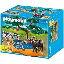 Playmobil 4828 - Búfalo con Cebras - Wild Life Búfalo con Cebras. Oferta antes 21,99€, Juguete A partir de 4 Años