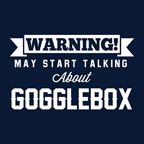 Coto7 Warning May Start Talking About Gogglebox Women's Vest Navy blue