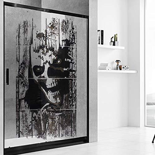 JXFFF Halloween Black Ghost Shantou Entfernbare Wandaufkleber Art DIY Decal Decor Halloween Dekorationen Decoracion De Fiestas Y Eventos 55x120cm
