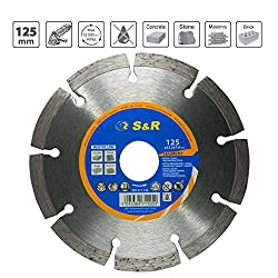 S&R Diamond Cutting Disc 125x22,2 mm for Universal use / Concrete, Stone, Bricke, Masonry/ Standard