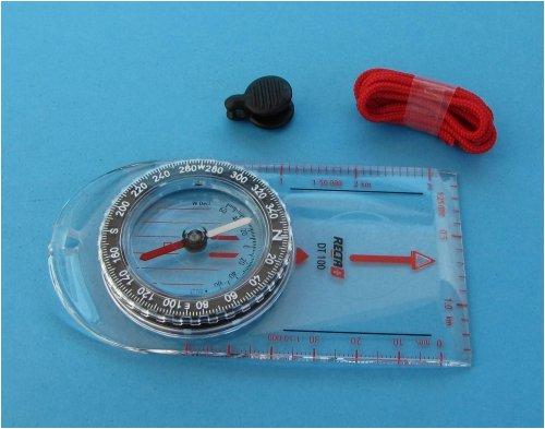 Kompass Recta DT 100 Marschkompass Kartenkompass