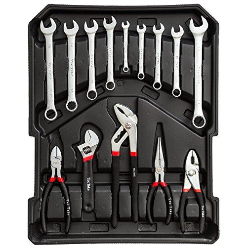 TecTake® 251 teiliger Werkzeugkoffer mit Werkzeug bestückt - 4