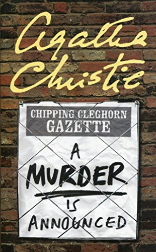 A Murder is Announced (Miss Marple), used for sale  Delivered anywhere in UK
