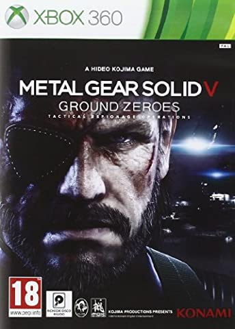 METAL GEAR SOLID V GROUND ZERO XBOX 360
