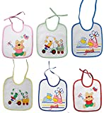 Tinny Tots Baby Terry Bib With Waterproo...