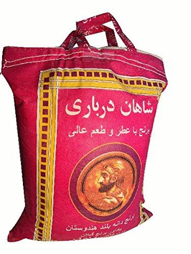Shahan Darbari 5 Kg Langkoringer Basmati-Reis aus Indien basmatirice