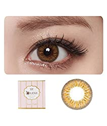 O-LENS Jenith3 Brown - Coloured Contact Lens ( 6 Month )