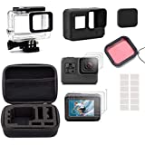 Toogoo Camera Accessories Kit, Accessory Kit For Gopro Hero 5 6 With Travel Case, Housing Case, Filter