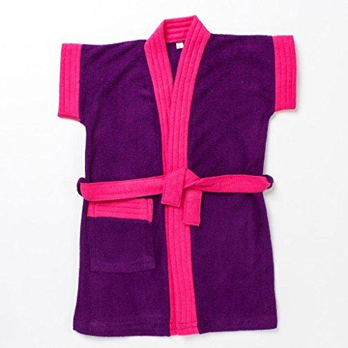 Pebbles Baby Purple & Pink Bath Robe