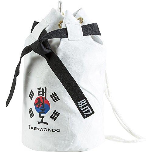 Blitz - Bolso de Viaje para Taekwondo, Color Blanco - Blanco, tamaño n/a