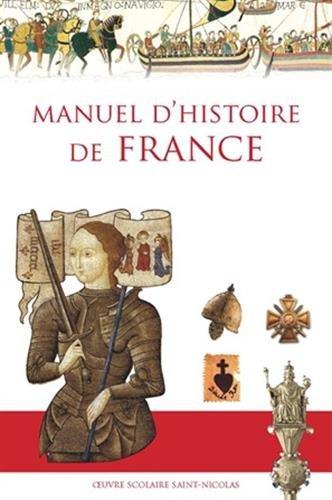Manuel d'histoire de France (Nouvelle édition)
