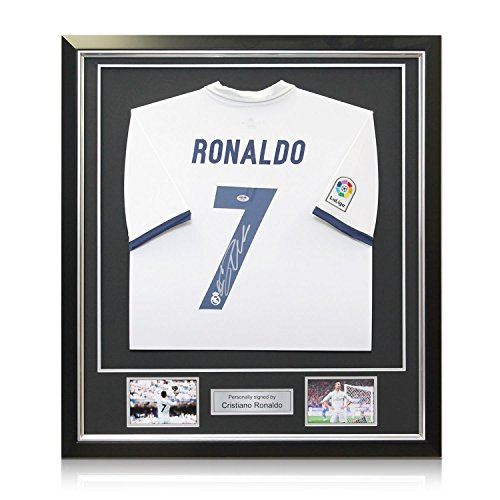Cristiano-Ronaldo-Signed-Real-Madrid-2016-17-Home-Shirt-In-Deluxe-Black-Frame-With-Silver-Inlay
