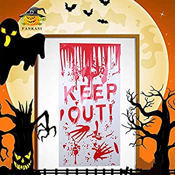 HALLOWEEN 1.8M BLOODY WEAPONS PARTY SPOOKY HANGING CEILING ROOM DECORATION PROP