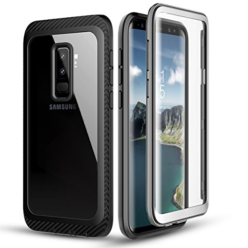 zukabmw Samsung Galaxy S9 Plus wasserdicht Hülle, wasserdicht Hülle Hülle zum Samsung Galaxy S9 Plus Snowproof stoßfest DirtProof Protection Snow-Resistant Hülle Hülle