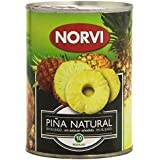 Norvi Piña Natural en su Jugo, Sin Azúcar Añadido - 565 g