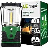 LE® 500lm Lanterne de camping LED,Torche ultra lumineuse, lumière d'urgence , lampe portable pour les activités extérieures, Télescopique Etanche, parfait pour Bivouac/ tentes/ maison/ camping/ chasse/ pêche/ Hurricanes/ Pannes