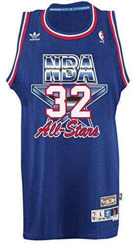 adidas Magic Johnson Los Angeles Lakers NBA 1992 All-Star Game Swingman Jersey Trikot -