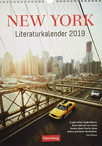 New York Literaturkalender - Kalender 2019