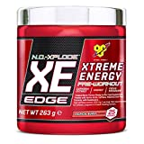 BSN N.O.-XPLODE XE Edge Pre-Workout Powder, 263 g, Tropical Burst