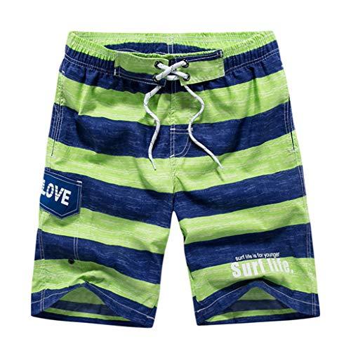 SANFASHION Herren Männer Badehose in vielen Farben | Badeshort | Bermuda Shorts | Beachshort | Slim Fit | Schwimmhose | Badehosen | schnelltrocknend | Jungen Badeshort