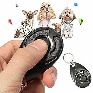 Vinallo 2 Pcs Cliqueurs pour dressage chien Pour dressage d'animaux chien chat cheval Clicker professionnel