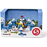 Schleich Smurf Movie Set