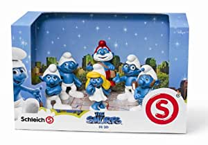 Schleich - 41260 - Figurine - Ensemble Schtroumpfs du Film