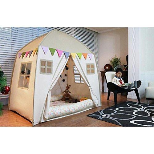 love-tree-Kids-Indoor-Princess-Castle-Play-TentsOutdoor-Large-Playhouse-Secret-Garden-Play-Tent-Portable-for-Indoor-and-Outdoor-Fun-Plays-Beige-One