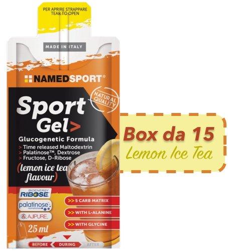 Named Sport Gel box da 15x25ml gusto Lemon Ice Tea