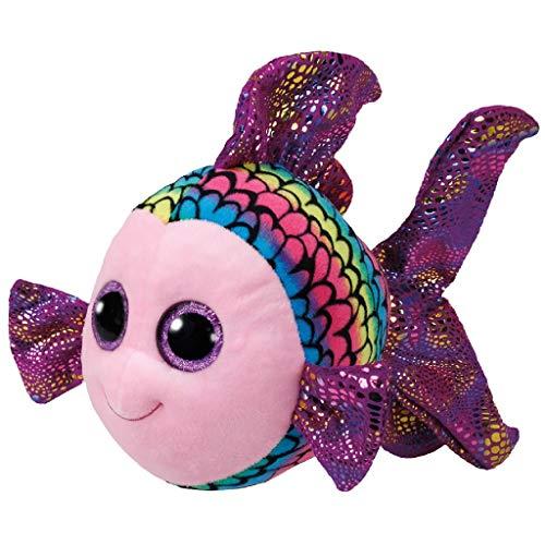 "Beanie Boo Fish - Flippy - Multicoloured - 24cm 9"""