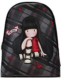 070dfd3b2f Santoro Gorjuss, zaino alla moda, motivo scozzese, The collector 844GJ02