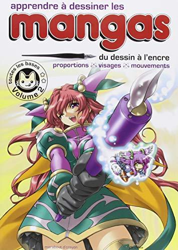 Apprendre à dessiner les mangas - Vol 2 par Collectif